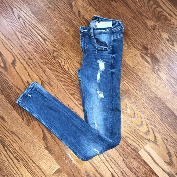 Zara Denim - Zara Trafaluc Ripped Jeans